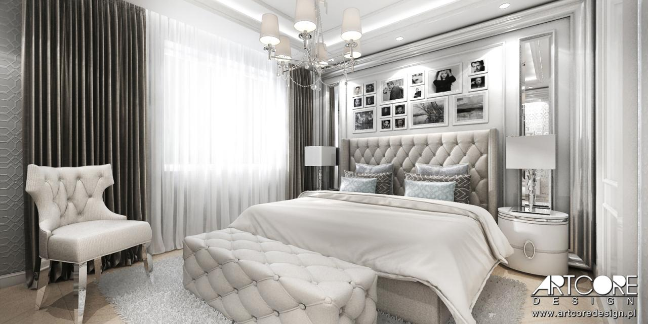 ekskluzywny apartament sypialnia