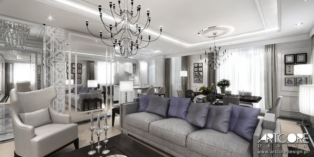 ekskluzywny apartament wnętrza